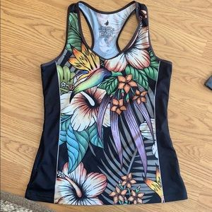 Werkshop tropical flower tank